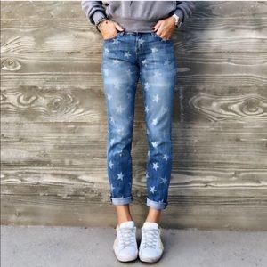 Current/Elliott Jeans - CURRENT ELLIOTT STILETTO WHITE STAR JEANS SZ 29